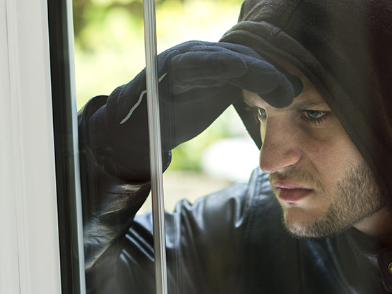 Top 10 ways to stop a burglar!