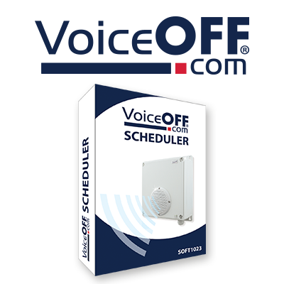 Software compatible with the VoiceOFF sound & voice annunciator