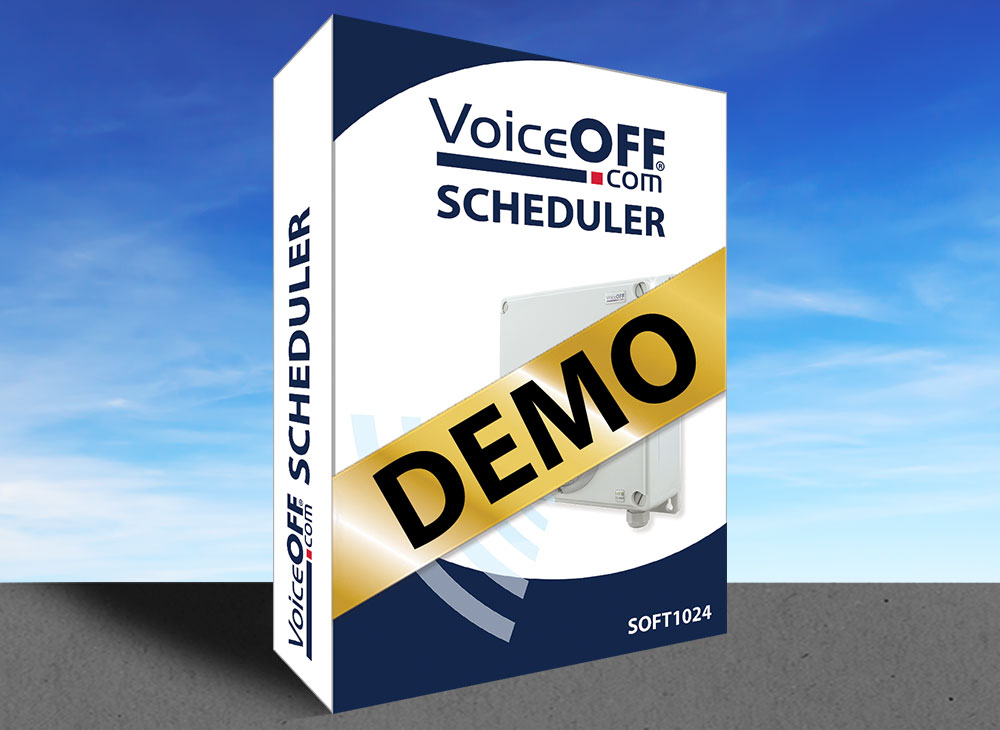 VoiceOFF Scheduler - Demo